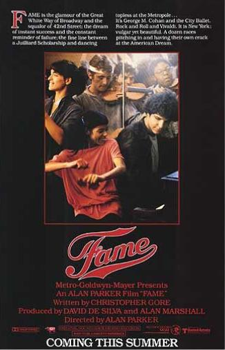 The older Fame is a much darker movie compared to most teen flicks today.