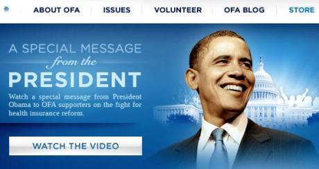 Organizing for America | BarackObama.com_1256938818070
