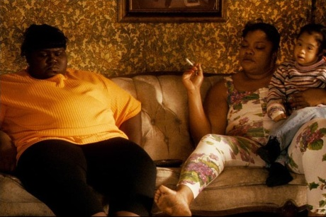 Mo-Nique and Gaboury Sidibe play two very troubled individuals in Precious.